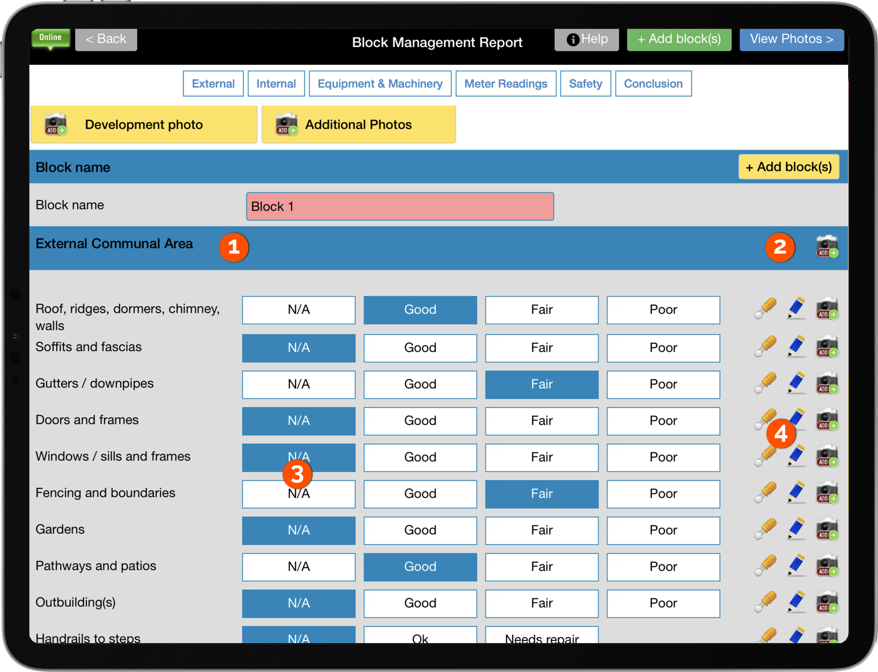 KPR Block & Estate Management screenshot